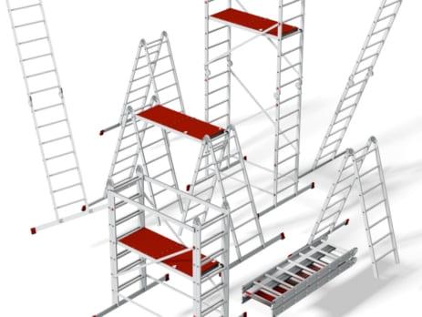 Строительные лестницы и стремянки: Все что нужно знать