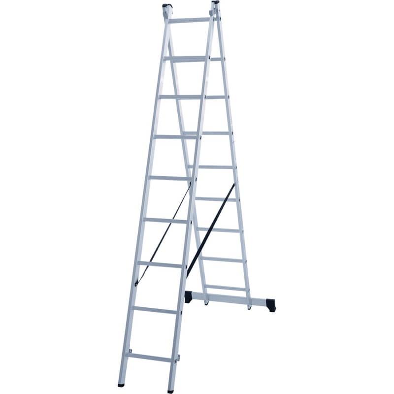 Лестница двухсекционная 2х9