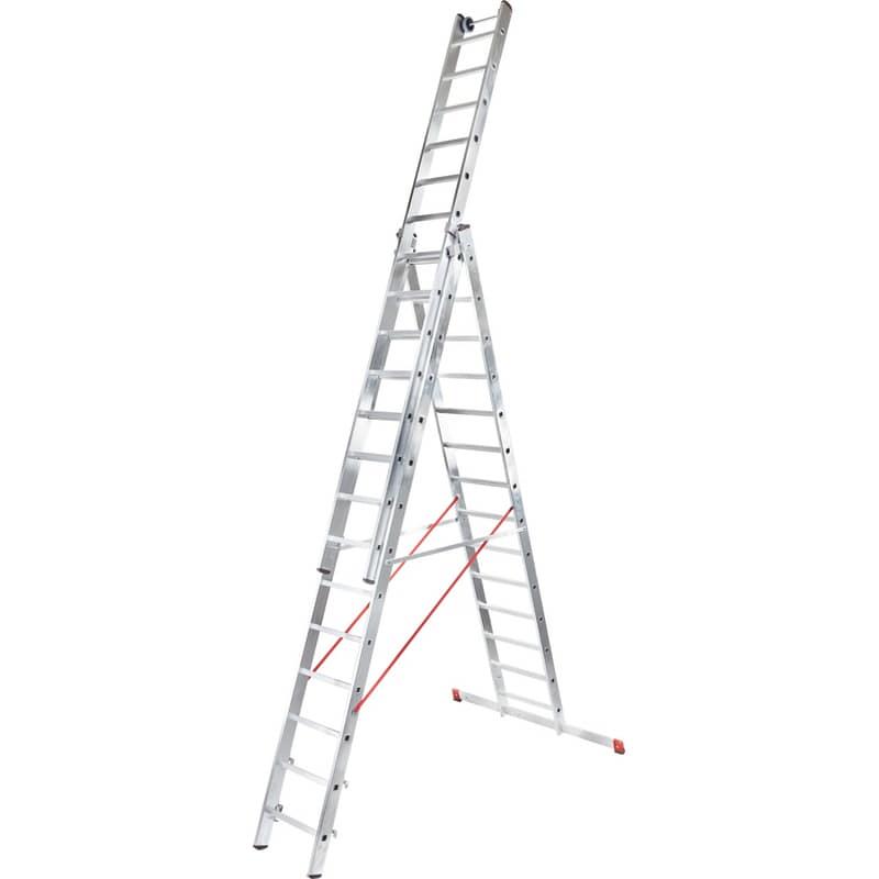 Лестница трехсекционная NV300