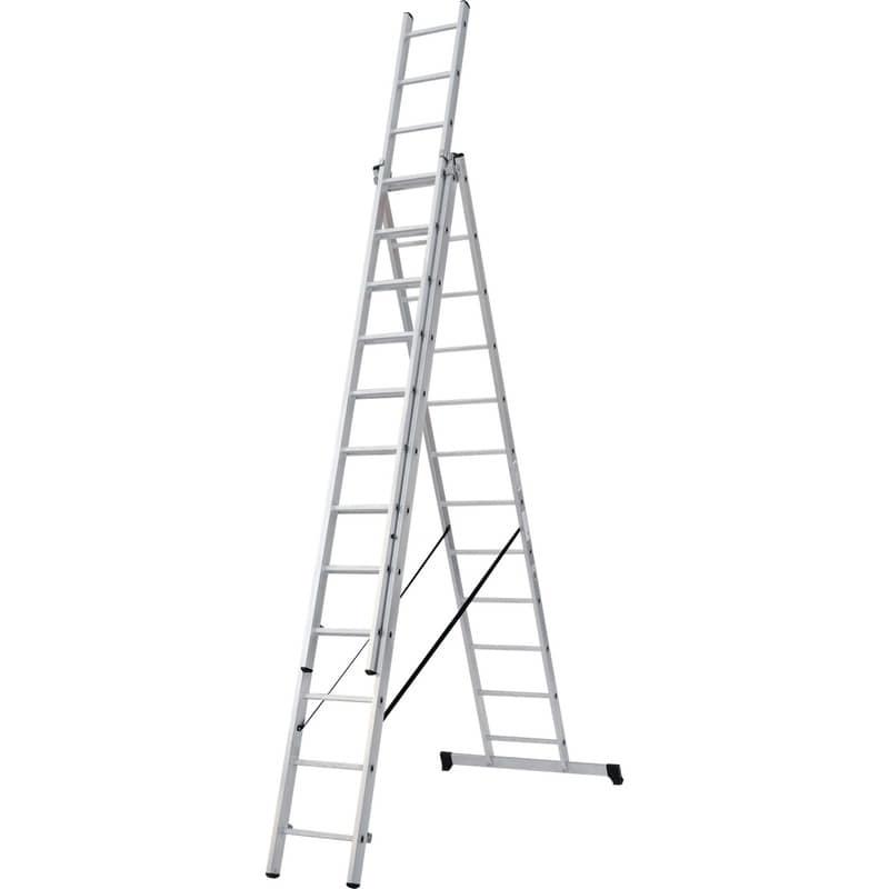 Лестница трехсекционная NV100