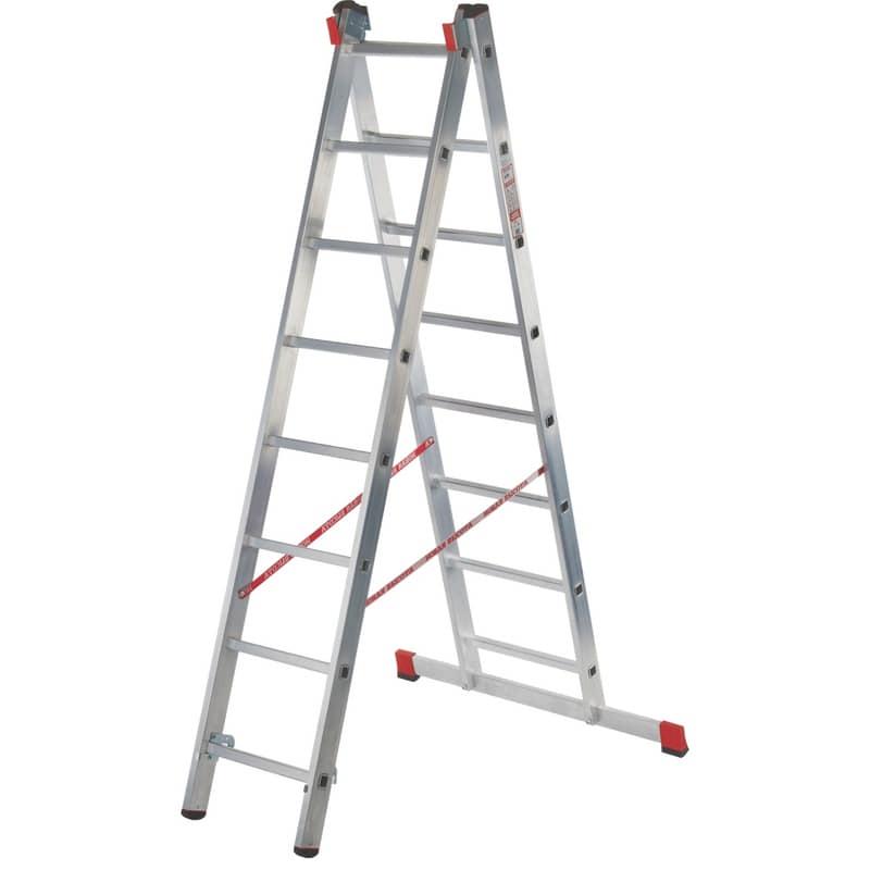 Лестница двухсекционная NV300